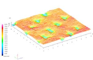 紙の凹凸:X:10mm,Y:10mm,Z:0.6mm